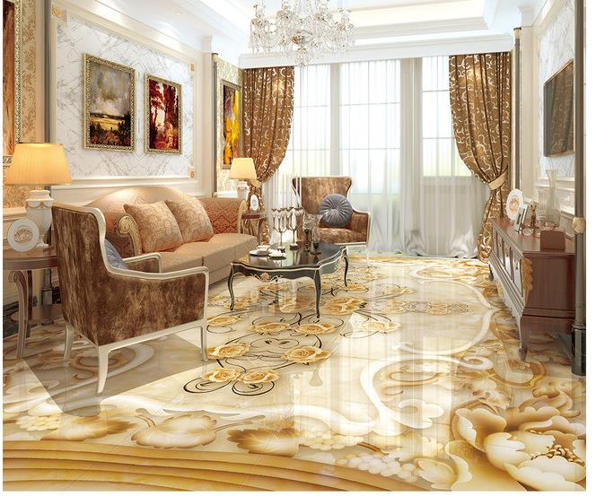 3d floor painting wallpaper Marble stone relief 3D floor waterproof wallpaper for bathroom wall 3d flooring wall sticker customized 3d floor tiles for livingroom welcome song marble stone relief floor wallpaper