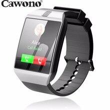 Cawono G12 Bluetooth reloj inteligente Smart Watch Anti-lost SIM TF Card with Camera Smartwatch for IOS Android VS DZ09 A1 GT08