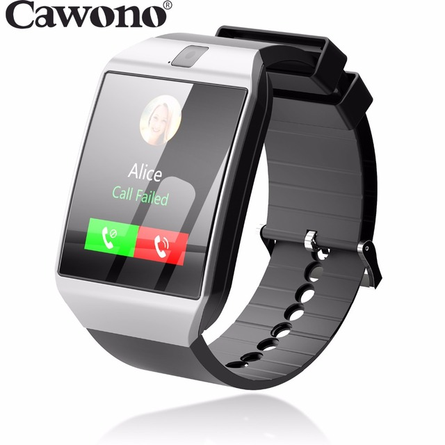 Cawono G12 Bluetooth reloj inteligente Smart Watch Anti-lost SIM TF Card  with Camera Smartwatch for IOS Android VS DZ09 A1 GT08 b67597c66ba