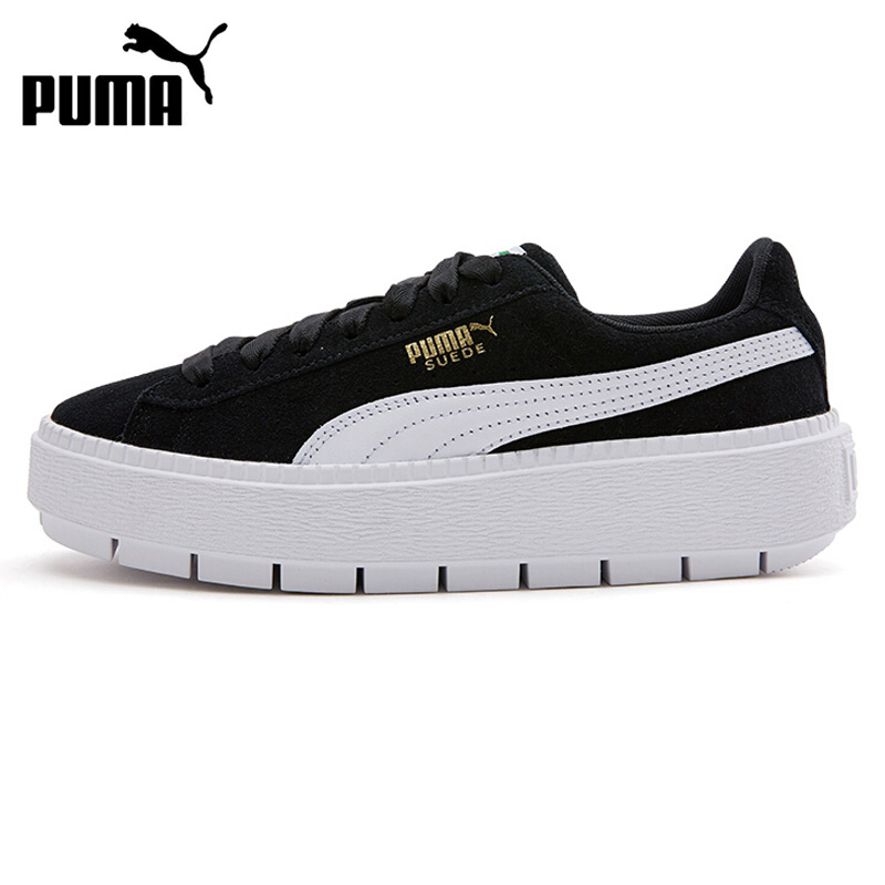 Original New Arrival PUMA Platform Trace MU Women's Skateboarding Shoes Sneakers