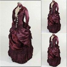 SC-910 Victorian Gothic/Vintage Dress Halloween Theater dress Custom made