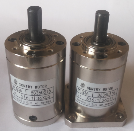 Quality 36mm Planetary reducer gearbox Diameter 36mm Used with dc motor / Square For Step Motor