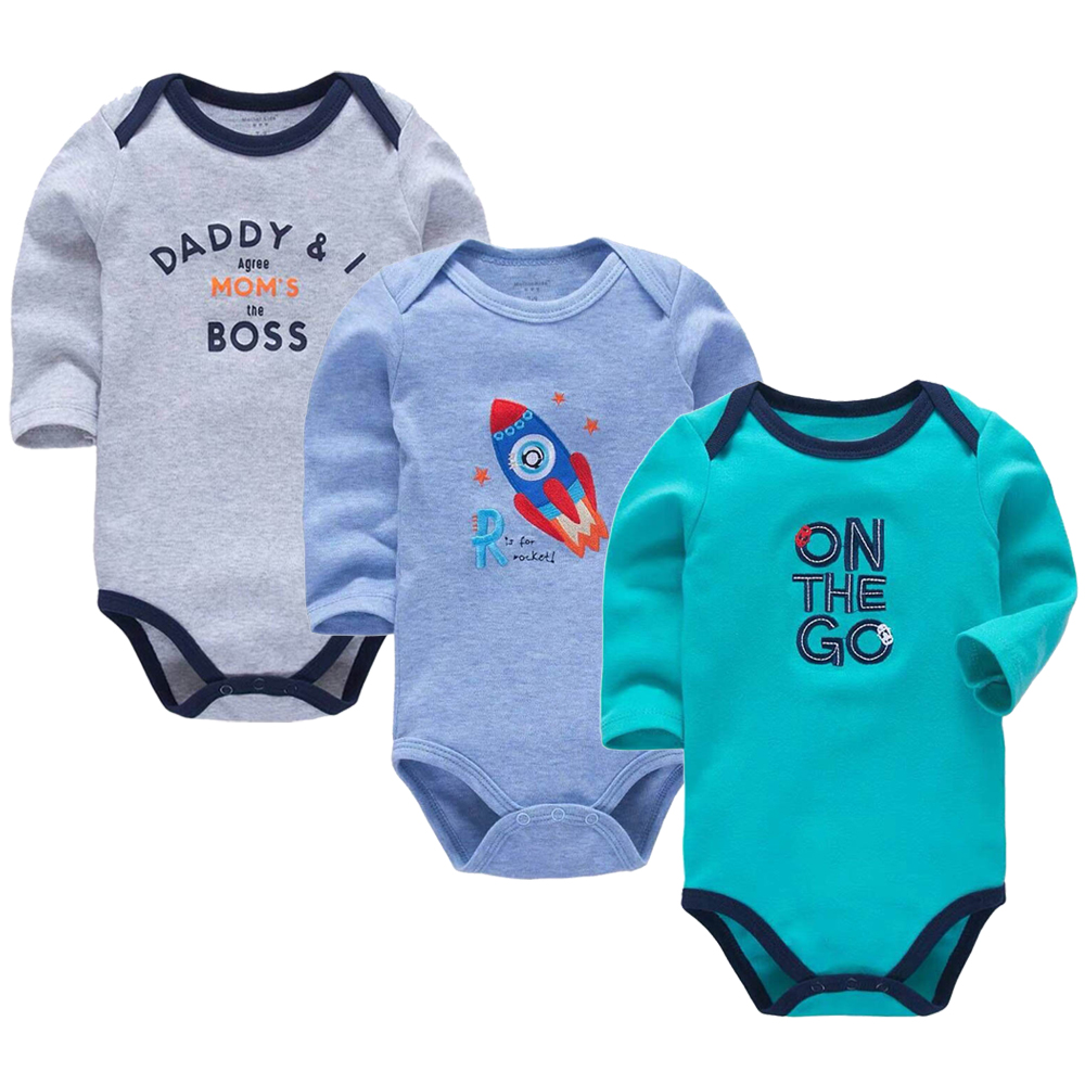 3 Pack Baby Boys Bodysuit Newborn Babies Girls Body 3 6 9 12 18 24 Months Infant Long Sleeve Bodysuits3 Pack Baby Boys Bodysuit Newborn Babies Girls Body 3 6 9 12 18 24 Months Infant Long Sleeve Bodysuits