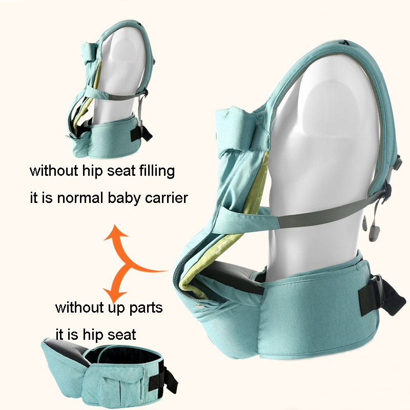 Baby Carrier Airbag Hipseat Fill Adjust Carrie Wide Infant Comfortable Sling Backpack O-type Legs Ergonomic Baby Carriers Mother & Kids