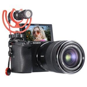 Image 3 - UURig R011 Mikrofon Kalten Schuh Montieren Rig Mic Adapter Vlog Kamera Externe Halterung Halter Für SONY A6400 DSLR Kamera Zubehör