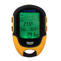 Impermeable FR500 multifunción LCD altímetro Digital brújula barómetro portátil al aire libre Camping senderismo escalada altímetro herramientas