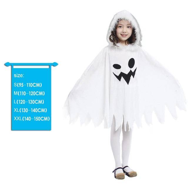 child ghost halloween costume source novelty unisex children ghost halloween costume girls scary cosplay