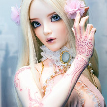 Бесплатная доставка bjd sd кукла волшебная страна feeple65 хлоя 1/3 тело возрождается девушки мальчики глаза