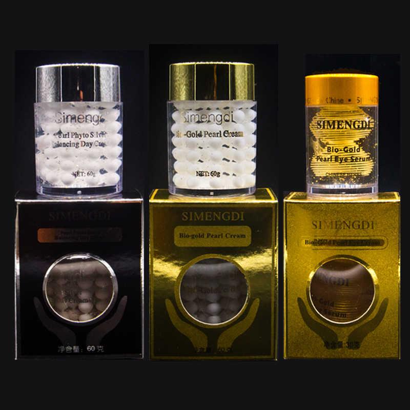 Merek Terkenal Kulit Simengdi Mutiara Phyto Perak Balancing Day Cream + Bio Gold Pearl Eye Cream + Bio Gold mutiara Krim Mata