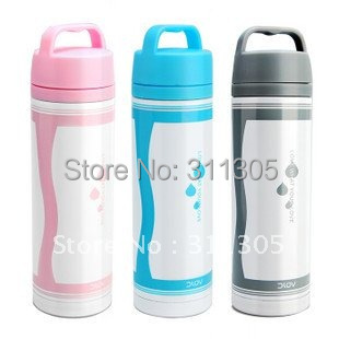 500ml double wall stainless steel vacuum water bottle,0.5L bullet shape vacuum flask thermos.Keep warm and cold.Can print logo