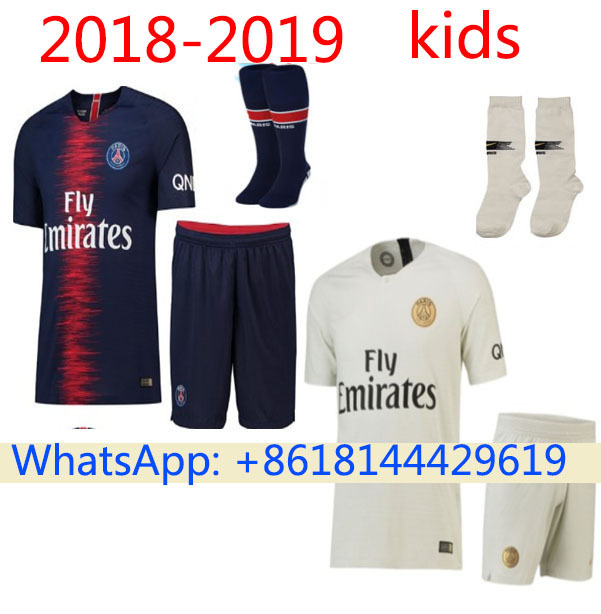5922be3ebb2 Detail Feedback Questions about Top quality New 2018 2019 PSG soccer jerseys  kids children Shirts Neymar Mbappe Shirts 18 19 jerseys kids jerseys on ...