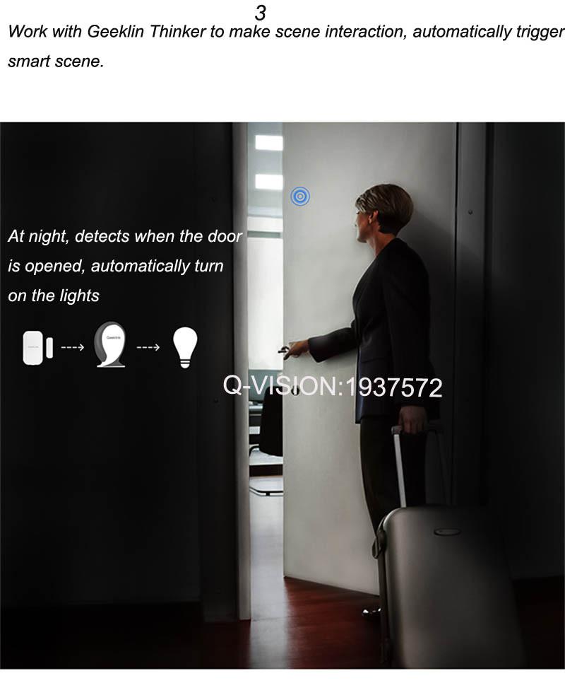 Geeklink Thinker+Two-way Feedback Door Sensor Smart Home Security  Automation Universal Controller Support 433315Mhz IR Wifi-5