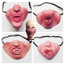 Смешная латексная маска клоуна для взрослых для костюмированной вечеринки; ужасный страшный Маскарад; Вечерние Маски для Хэллоуина; реквизит для Хэллоуина