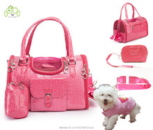 Fashion Small Pet Carrier Dog Bag For Small Animals Cat Traveling Handbags Slings travel Carry Bag Pink