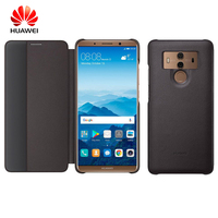Original Huawei Mate 10 Pro Smart View Flip Case Cover PC PU Case For Huawei Mate