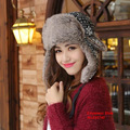 Winter Hats For Women Bomber Hat Fur  Winter Cap Russian Gorras Chapeu Snow Caps Earflap Woman Winter Hat