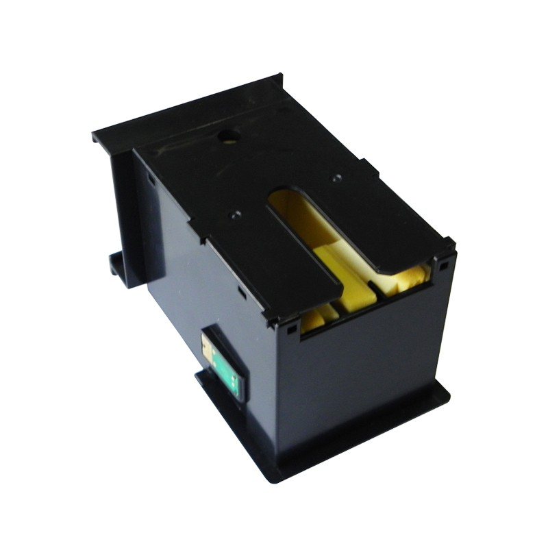 T6711 Maintenance tank Waste ink tank for Epson stylus pro WF3010 3520 3530 3620 3640 7110 7610 with compatible chips good quality maintenance tank for epson stylus pro 7700 9700 7710 9710 waste ink tank with compatible chips free shipping