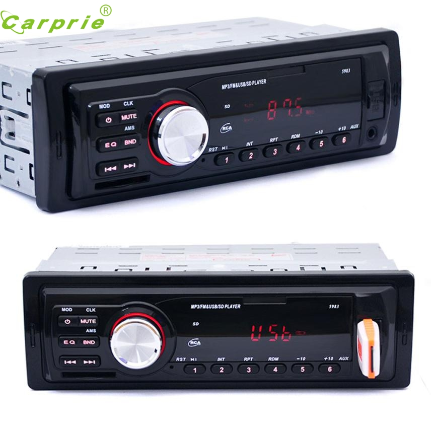 New Arrival Car Radio Stereo In-Dash MP3 Music Player FM USB SD AUX Input Receiver