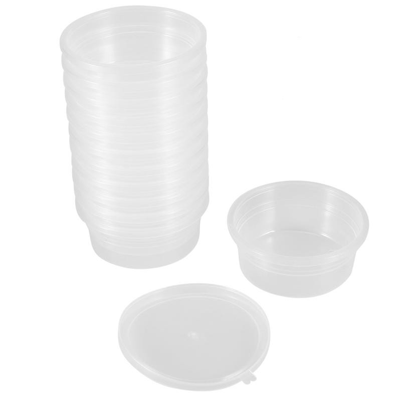 2019 nova redonda bola de espuma lodo diy argila impressão artesanato recipientes armazenamento caixa organizador com tampas para 20g slime