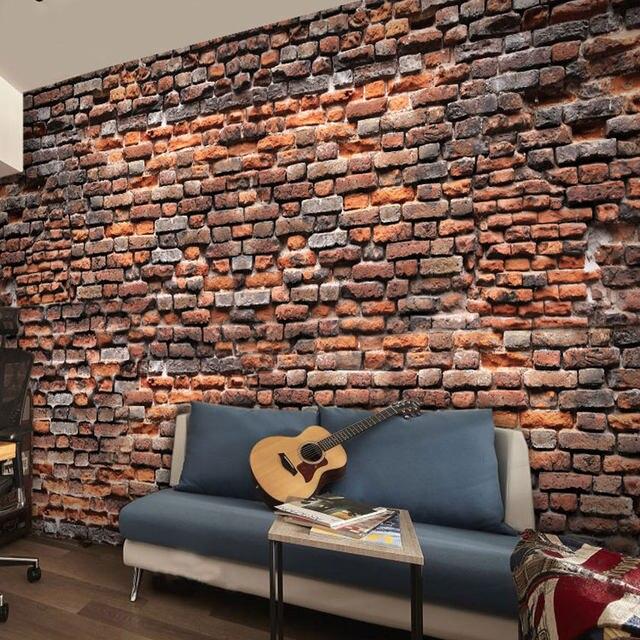elegant personnalis d murale d simulation papier peint caf restaurant salon bar th maison. Black Bedroom Furniture Sets. Home Design Ideas