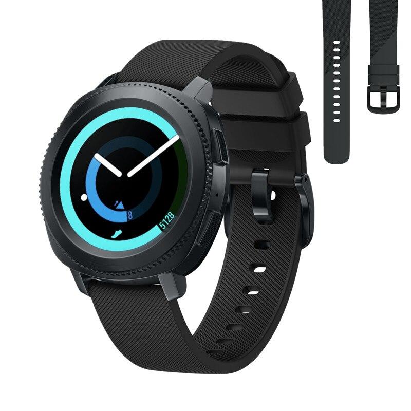 цена на ASHEI 20mm Silicone Sport Watch Strap Bracelet for Samsung Gear Sport Band Replacement Wristband For Samsung Gear S2 Bands