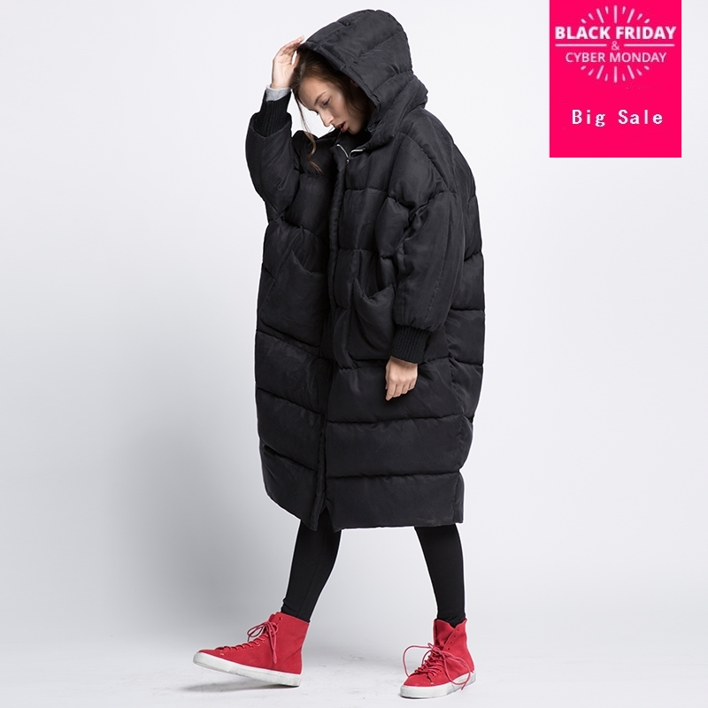 Plus size Winter Comfortable cuprammonuium fabric 90% real duck   down     coat   female fashion brand with hooded warm   down     coat   wq514