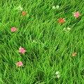 Оптовая продажа  пластиковый синтетический газон  искусственный газон с цветком  коврик для сада