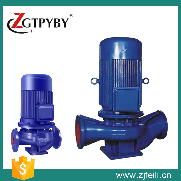 US $611 0 |ISG 6 inch water pump Inline water booster pump sewage pump  price sewage inline pump with large capacity-in Pumps from Home Improvement  on