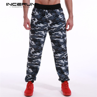 Men Pants Camouflage 2016 Brand Fashion Men Pants For Track Training Plus Size Casual Slim Fit