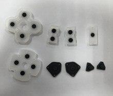 100 шт./лот, для замены, для ps4, игровой коврик, кнопки контроллера, резиновый набор 9в1