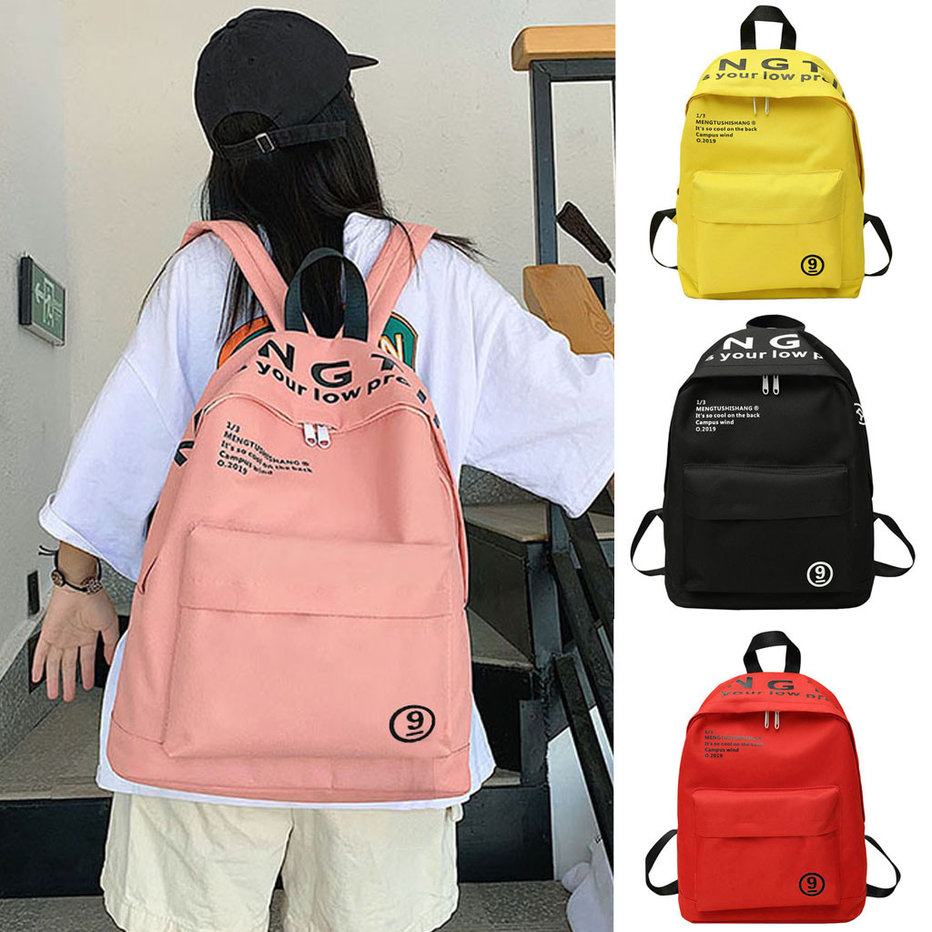 Anti Theft Backpacks Travel Teenage Backbag 2019 Woman New Casual Backpack Student Fashion Backpack Simple Shoulder Bag mochila