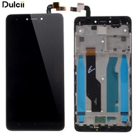 Dulcii LCD Parts For Xiaomi Redmi Note 4X OEM LCD Screen And Digitizer Assembly Frame Part
