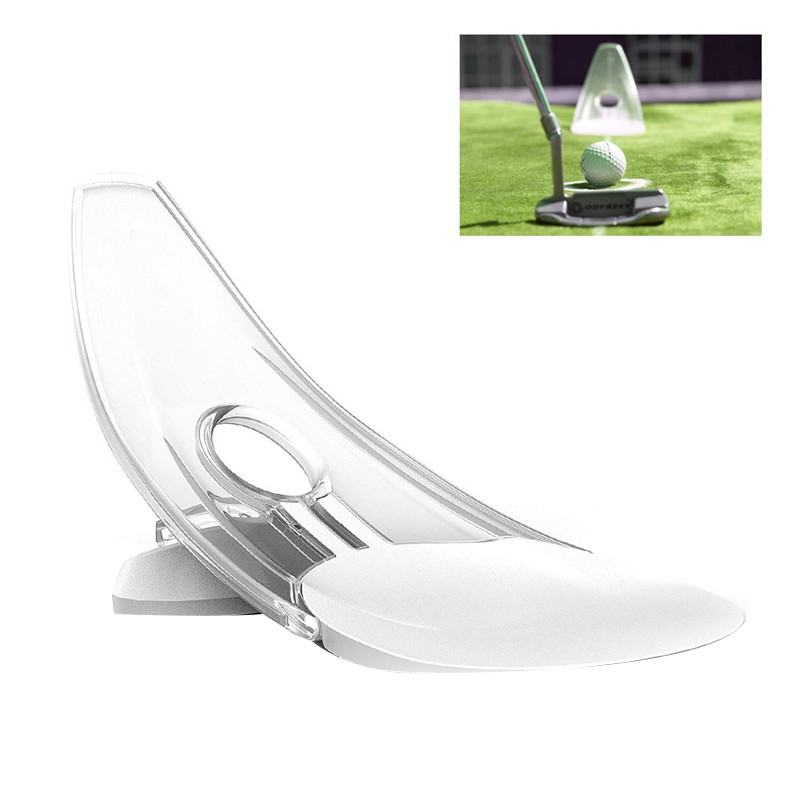 100% New Golf Putting Practice Portable Outdoor Indoor Putter Trainer Practice Putt Posture To Improve Putt Action
