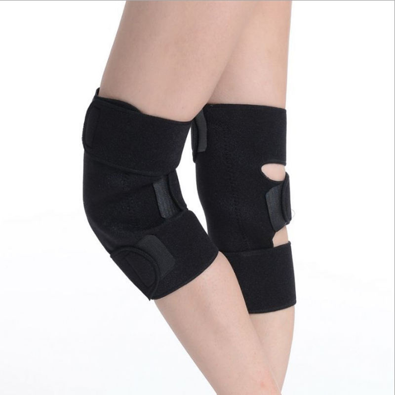 tourmaline heating Belt knee Massager Knee Protector 1 Pair Tourmaline self heating knee pad Magnetic Therapy knee support