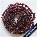"""Comercio al por mayor 4-7mm Granate Natural Piedra Nugget Freeform Grava Suelta Perlas Capítulo 34 """"Collar de la Joyería de la Pulsera DIY haciendo"""