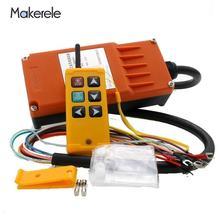 Makerele промышленное управление подъемного крана с 6 клавишами