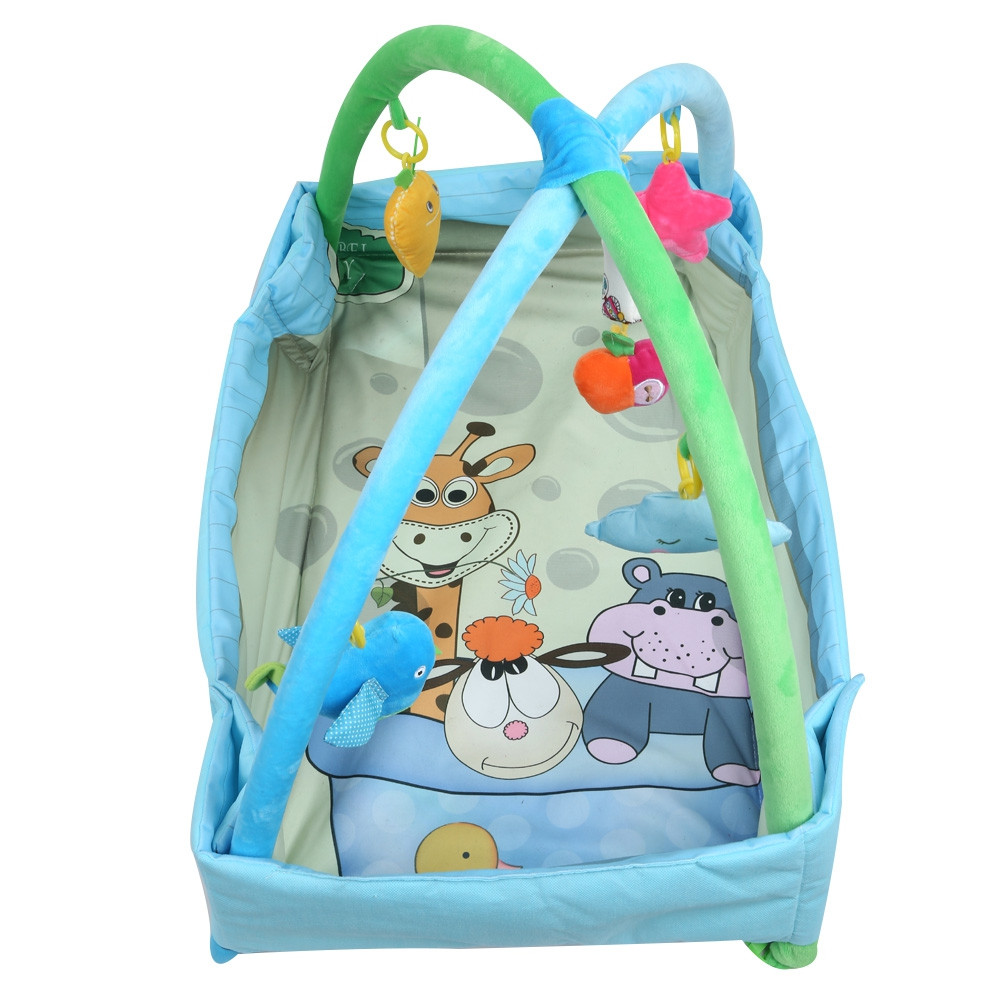 Cartoon Baby Play Mat Rug Toys Kid's Crawling Music Play Game Developing Mat Pad with Keyboard Infant Carpet Education Rack Toy cartoon soft baby play mat game mat kids infant rug floor pad educational hanging toy carpet infant playmat crawling blanket