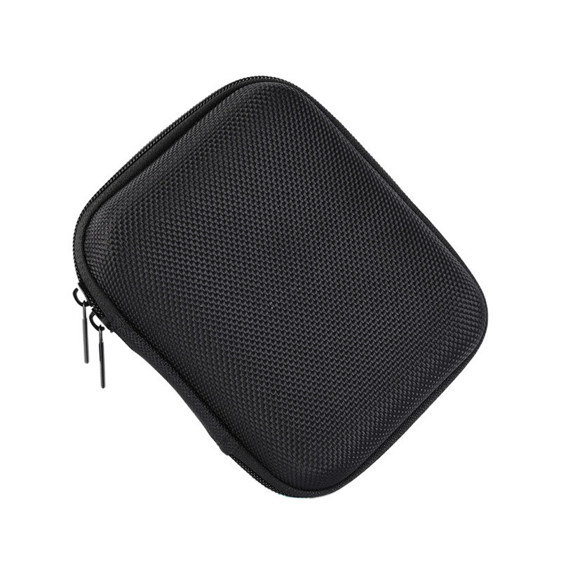 PU EVA Storage Carrying Hard Bag Box for USB Data Line Earphone Headphone Organizer Bag Pouch Box 15 * 10 * 3 cm EJ310
