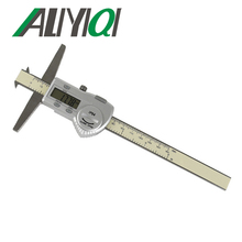 On sale 0-150mm Double hooks digital depth caliper stainless steel electronic high precision good quality waterproof