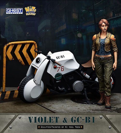 NP GC90005 1/20 violet and GC-B1 locomotives np gc b002 1 10 exo armored suit private military contractor