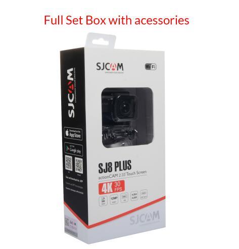 Дешево! SJCAM SJ8 Pro/SJ8 Plus/Air 4K Экстремальные виды спорта камера Водонепроницаемый Анти встряхивание двойной сенсорный экран WiFi Пульт дистанционного управления экшн DV - 5