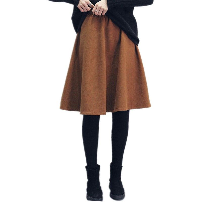 Online Get Cheap Black Wool Pleated Skirt -Aliexpress.com ...