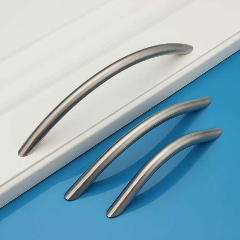 one piece Stainless Steel Cabinet Door Furniture Handles Kitchen ...