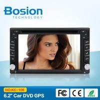 Universal 2Din 6 2 In Dash Car DVD Player Radio Auto GPS FM USB SD Bluetooth