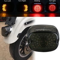 Motorcycle Tail Light For Harley Sportster XL Dyna Street Bob Touring Road Glide Harley Softail lamp