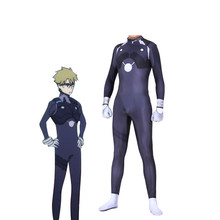 DARLING in FRANXX ZERO TWO Anime Movie Cosplay HIRO Set Spandex Game Womens Jumpsuit Tights Costume