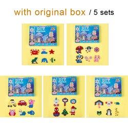 DOLLRYGA 5 Sets DIY Magische Water Kralen Speelgoed Voor Kinderen Ambachten Creatieve Materiaal Waterige Sticky Kralen Brithday Gift