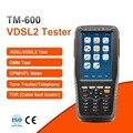 TM-600 VDSL VDSL2 Tester ADSL WAN & LAN probador xDSL línea de equipo de prueba con todas las funciones (OPM + VFL + rastreador de tonos + TDR)