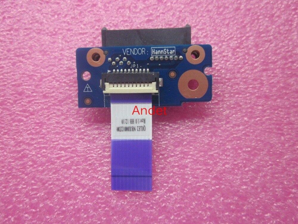 New Original for Lenovo ThinkPad E530 E530C E545 ODD DVD CD Drive Interface Subcard Board 04W4127 LS-8136P