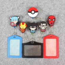 Cartoon Badge Scroll Nurse Office Reel Cute Star Wars Character Scalable Student Exhibition ID Business Card Holder